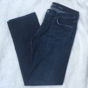 7 for All Mankind Mens Austyn Dk wash Jeans Sz 36